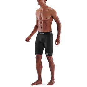 Skins Series-1 Half Tights Men, negro